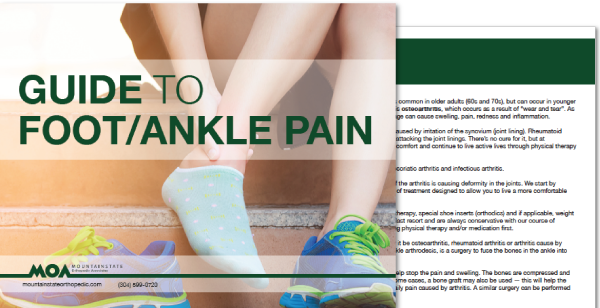 Guide to Foot/Ankle Pain