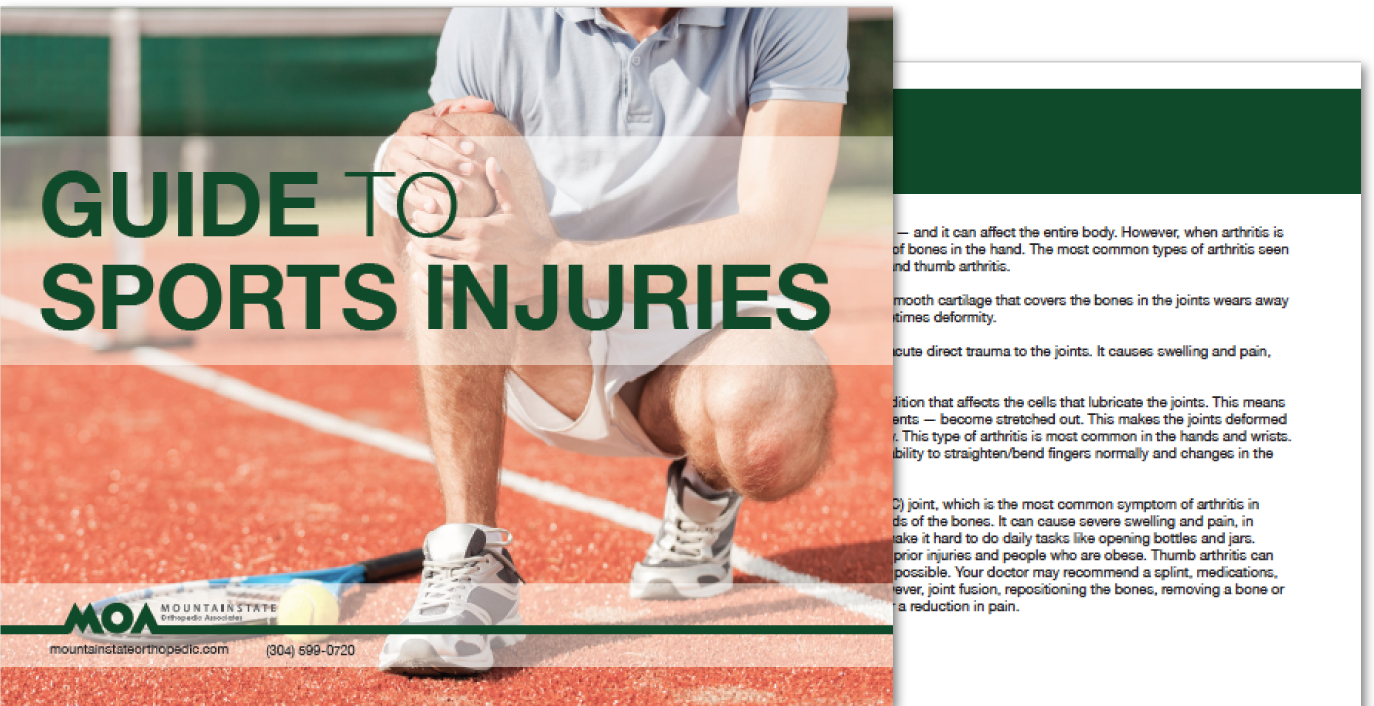 Guide to Sports Injuries