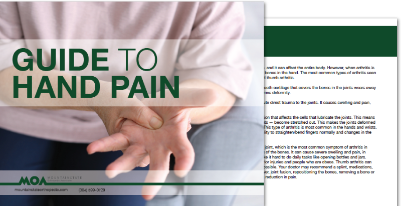 Guide to Hand Pain